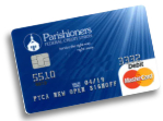 ParishionersFCU Debit Card