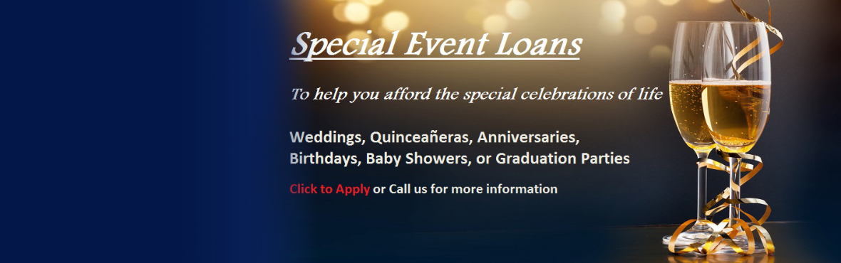 Special Event Loans