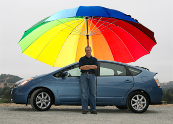 спасти автомобиль от жары